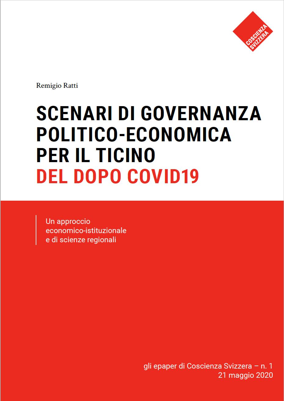 Scenari di governanza politico-economica per il Ticino del dopo Covid-19